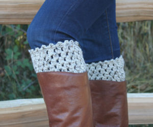 Easy Ways of Crocheting Boot Cuffs