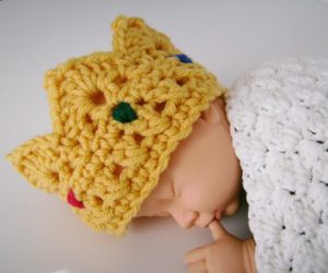 crochet a crown pattern