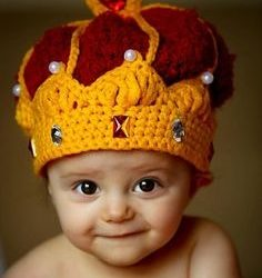 crochet knit crown