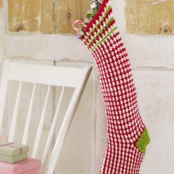 long christmas stocking crochet pattern