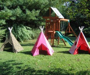 diy teepee for camping