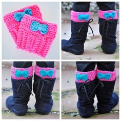 crochet boot cuffs for toddler