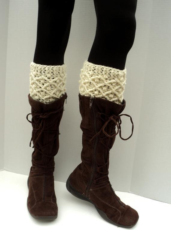 Brooklyn Boot Cuffs Free Crochet Pattern Pakbit For