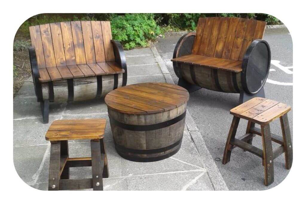 24 Inspiring DIY Barrel Tables Patterns Hub