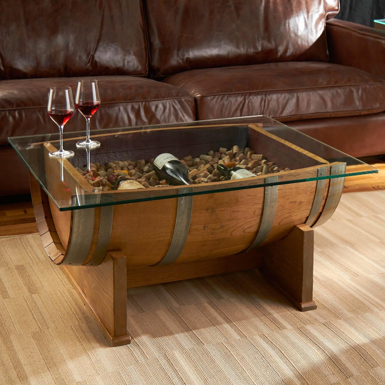 Charmant Barrel Accent Table · Barrel Table Base