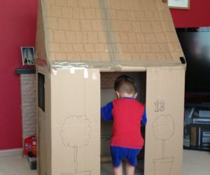 cardboard playhouses for toddlers