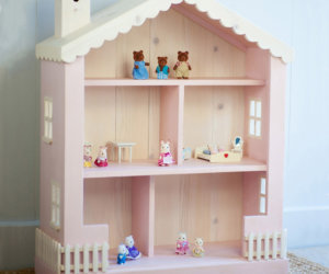 Dollhouse Children's Bookcase