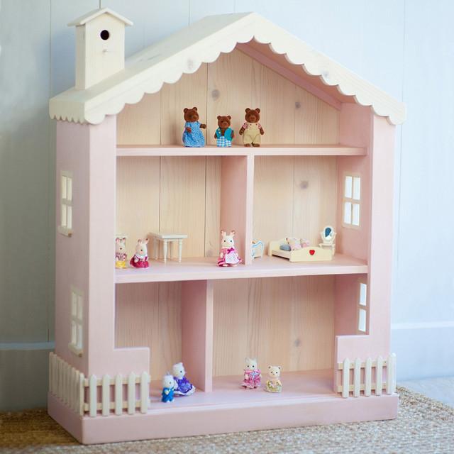 Dollhouse Children's Bookcase