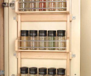 DIY Door Spice Rack