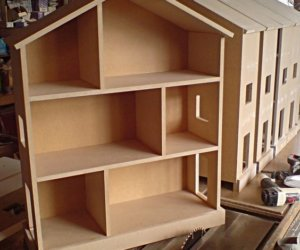 dollhouse bookcase furniture