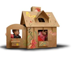 Life Size Cardboard Playhouse