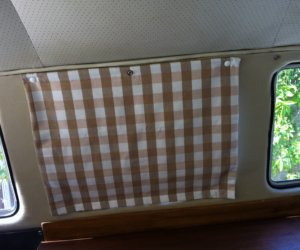 No-Sew Pop-up Camper Curtains