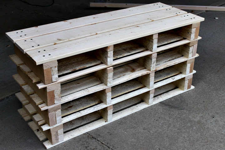 diy wood pallet shoe rack. Pallet Shoe Rack Bench