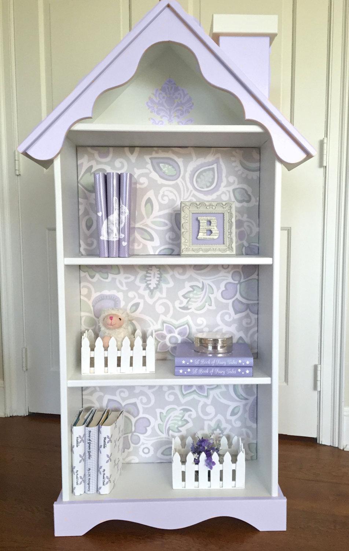 Free Dollhouse Bookcase Plans