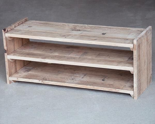 Pallet Shoe Rack Diy