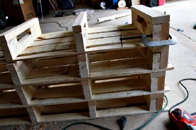 Small Pallet Shoe Rack Project