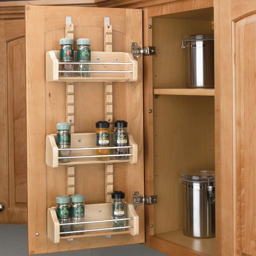 24 Latest Designs & Patterns for Your New Spice Rack - Patterns Hub