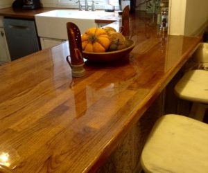 wooden countertops kitchen