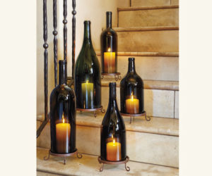Wine Bottle Candle Holder Lanterns