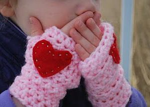 toddler fingerless gloves crochet pattern