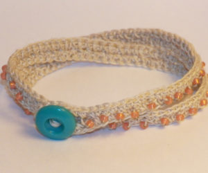 beaded crochet bracelet patterns free