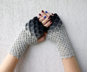 fingerless gloves crochet patterns for beginners