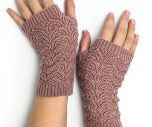 Easy Fingerless Gloves Crochet Pattern