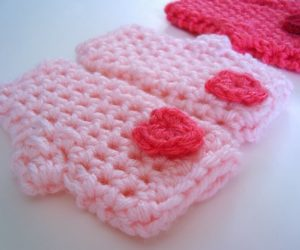 cute fingerless gloves crochet pattern