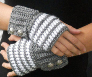 half finger gloves crochet patterns