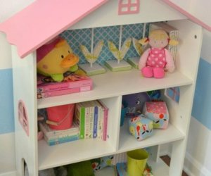 Kids Room Dollhouse Bookcase