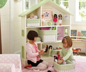 Dollhouse Toddler Bookcase