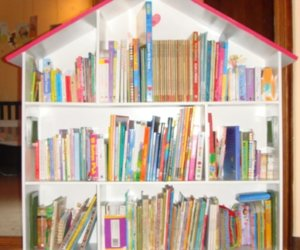 Personalized Dollhouse Bookcase