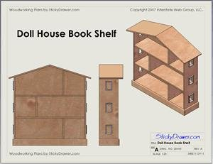 How to Build a Dollhouse Bookcase