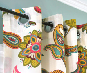 How to Make No-Sew Curtain