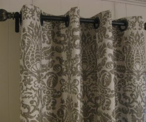No-Sew Grommet Window Curtain Panel