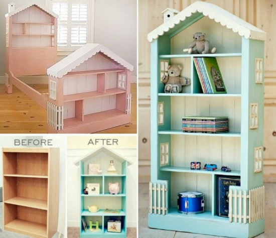 How To Make A Dollhouse Bookcase
