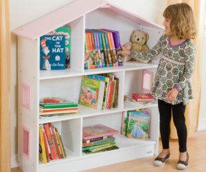 small dollhouse bookcase