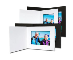Corrugated Gold Cardboard Picture Frame