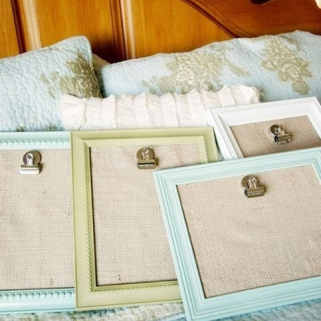 how to make a cardboard picture frame stand