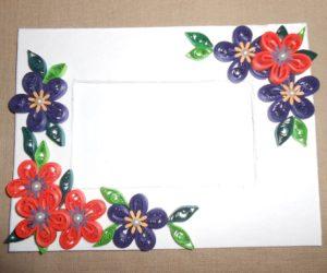 Custom Cardboard Picture Frame