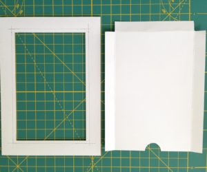 Cardboard Picture Frame Backing