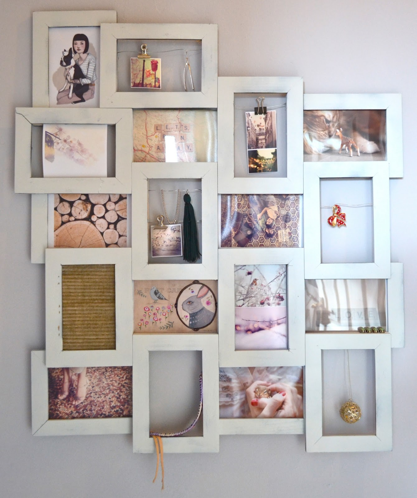 27 supercool cardboard picture frames to make patterns hub collage cardboard picture frame solutioingenieria Images