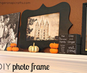 Cardboard Picture Photo Frame