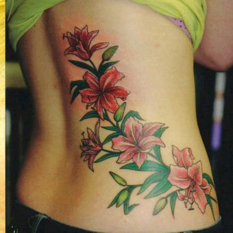 Flowers Tattoos for Women
