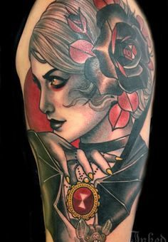 Vampire Tattoos for women