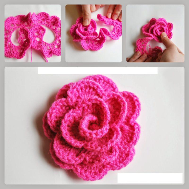 crochet a rosefree pattern