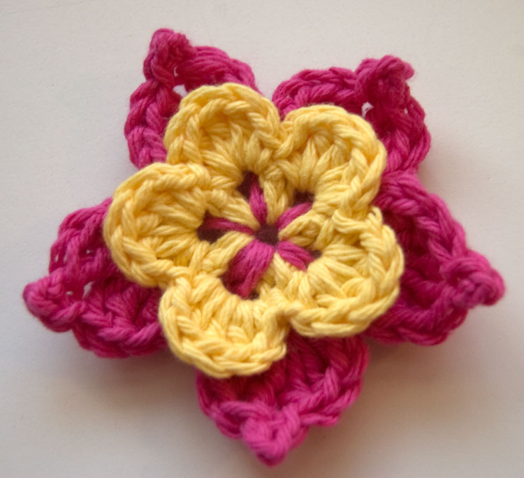 crochet a simple rose