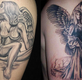angel tattoos images
