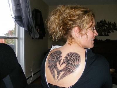 jewishangel tattoos