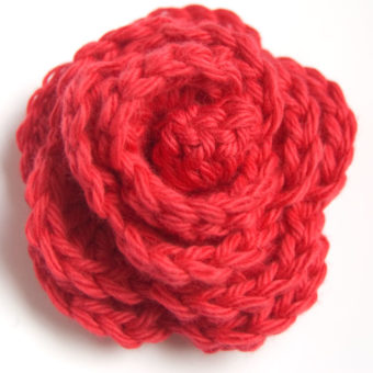 crochet a rosette